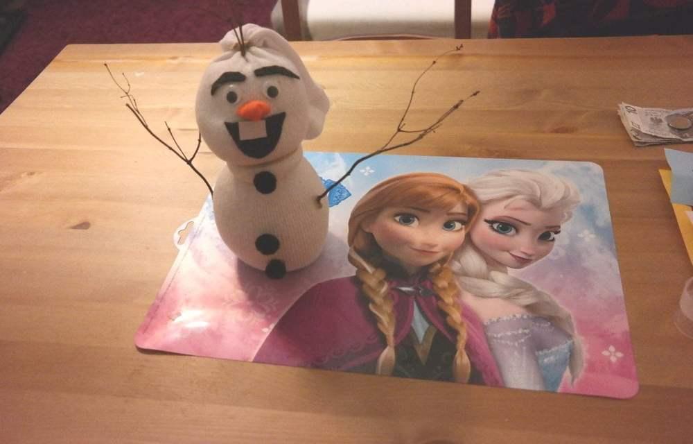 Olaf ze skarpety