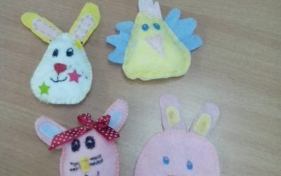 Szyjemy ozdoby, dekoracje na Wielkanoc