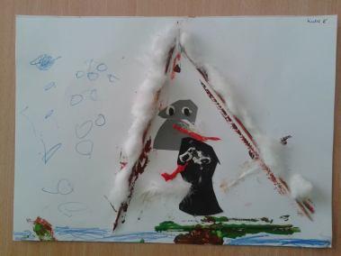 Pomagamy zwierzętom przetrwać zimę - karmnik Kreatywnie z dzieckiem Marlena Wrońska Prace plastyczne Światowy Dzień Dzikiej Przyrody Światowy Dzień Zwierząt Zima