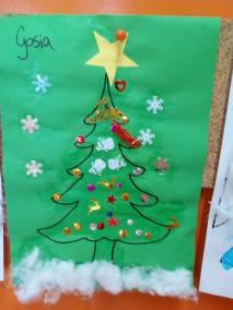 Świąteczne prace plastyczne Boże Narodzenie Monika Okoń Prace plastyczne Prace plastyczne (Boże Narodzenie) Święta Zima (Prace plastyczne)