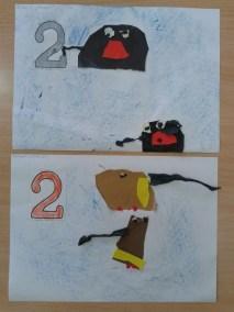 Utrwalanie cyfry 2 Dzień Matematyki Kreatywnie z dzieckiem Marlena Wrońska