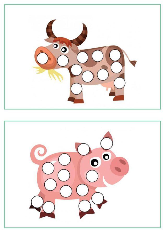 Uzupełnij kropki 1 Ania Jóźwina Kolorowanki Pomoce dydaktyczne Spostrzegawczość