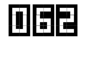 Cyfry – układanka