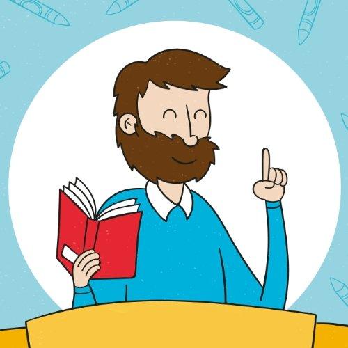 Napis Dzień Nauczyciela w liście Dzień Edukacji Narodowej Napisy (Dzień Edukacji Narodowej)