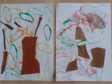 Jesienne drzewko Dzień Drzewa Dzień Lasu Jesień Jesień Kreatywnie z dzieckiem Marlena Wrońska Prace plastyczne (Jesień) Rośliny