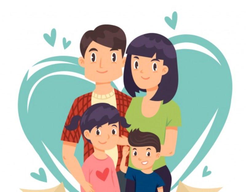 Dwa słowa – Mama i Tata Agata Dziechciarczyk Dla mamy i taty (Wierszyki) Dzień Rodziny (Wierszyki) Wierszyki