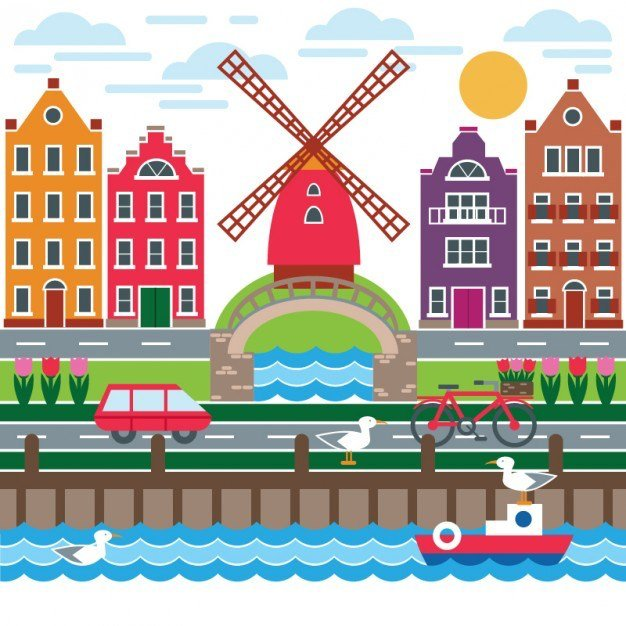 Holandia Agata Dziechciarczyk Dzień Wiatru Podróże Wierszyki