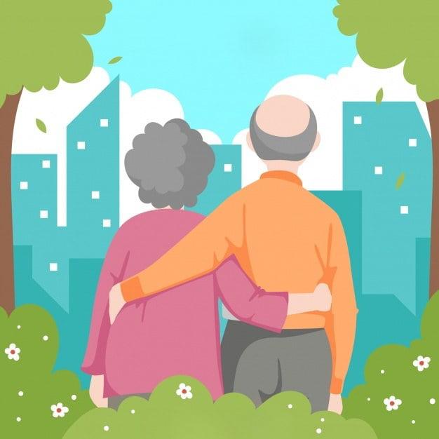 Na rozpoczęcie święta babci i dziadka Agata Dziechciarczyk Dzień Babci i Dziadka (Wierszyki) Dzień Rodziny (Wierszyki) Wierszyki
