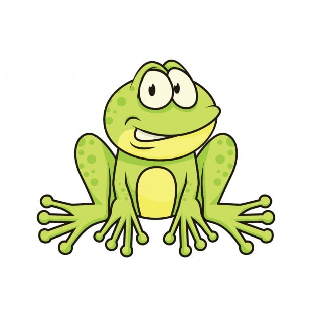 Żabka Agata Dziechciarczyk Wierszyki Wiosna (Wierszyki)