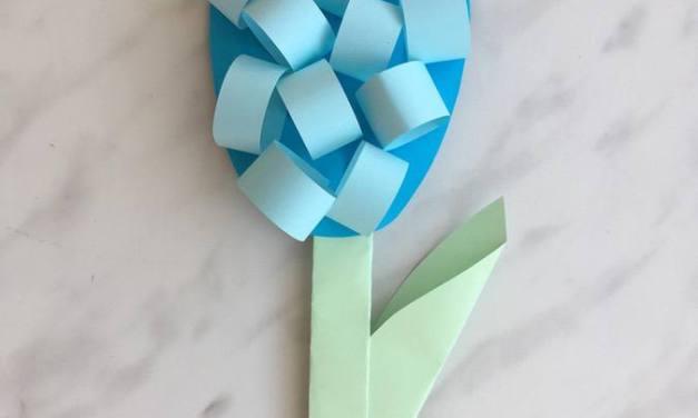 Hiacynty z papieru