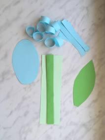 Hiacynty z papieru Kreatywnie z dzieckiem Patrycja Sulej Wiosna