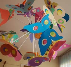 Kolorowe motyle Dominika Kobylak Kreatywnie z dzieckiem Lato Prace plastyczne (Dzień Zwierząt) Prace plastyczne (Wiosna) Światowy Dzień Zwierząt Wiosna Zwierzęta