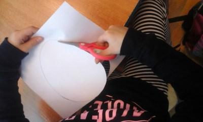 Pisanki odbite na obrusie Anna Kowalska Prace plastyczne Prace plastyczne (Wielkanoc)