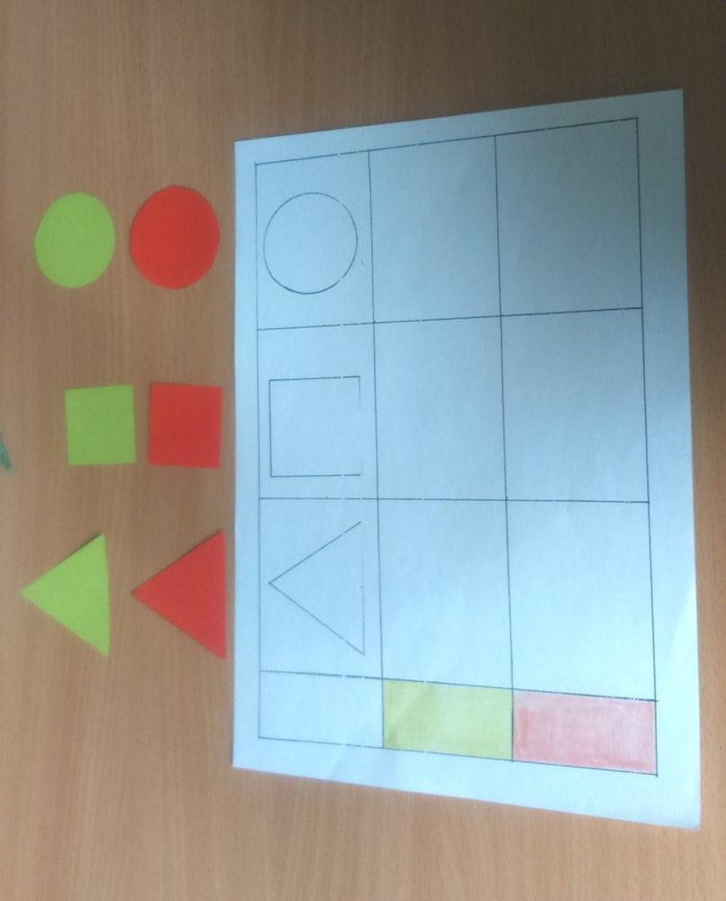 Figury geometryczne - matematyka jest ciekawa Barbara Labun Matematyka Nauka kształtów Pomoce dydaktyczne