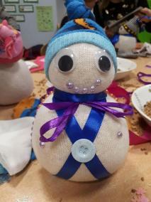 Warsztaty świąteczne dla rodziców i dzieci Boże Narodzenie Małgorzata Wojkowska Prace plastyczne