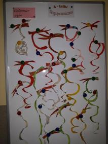 Kolorowe węże - poznajemy zwierzęta Kreatywnie z dzieckiem Małgorzata Wojkowska Prace plastyczne Światowy Dzień Zwierząt Zwierzęta