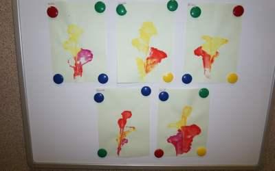 Kwiaty nitką malowane