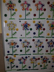 Kolorowe kwiatki - praca z plasteliną Kreatywnie z dzieckiem Małgorzata Wojkowska Wiosna Wiosna