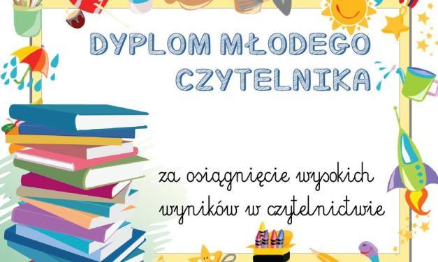 Dyplomy młodego czytelnika (poziome)