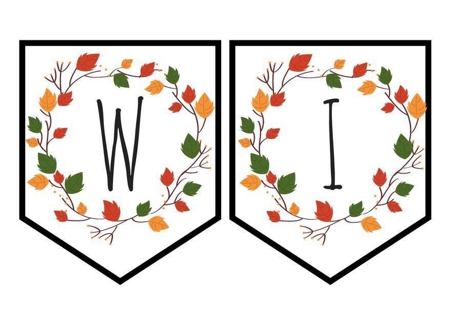 """Baner jesienny """"Witamy w przedszkolu"""""""