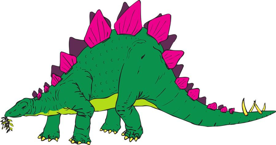 Dekoracje - Dinozaury Dekoracje Światowy Dzień Zwierząt