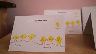 Paluszkowe kartki świąteczne Aneta Grądzka-Rudziak Kreatywnie z dzieckiem