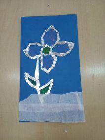 Mroźne kwiaty Izabela Kowalska Kreatywnie z dzieckiem