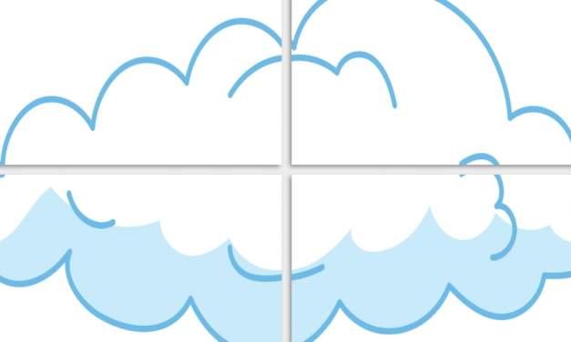 Dekoracje XXL: Chmury (10 szablonów)
