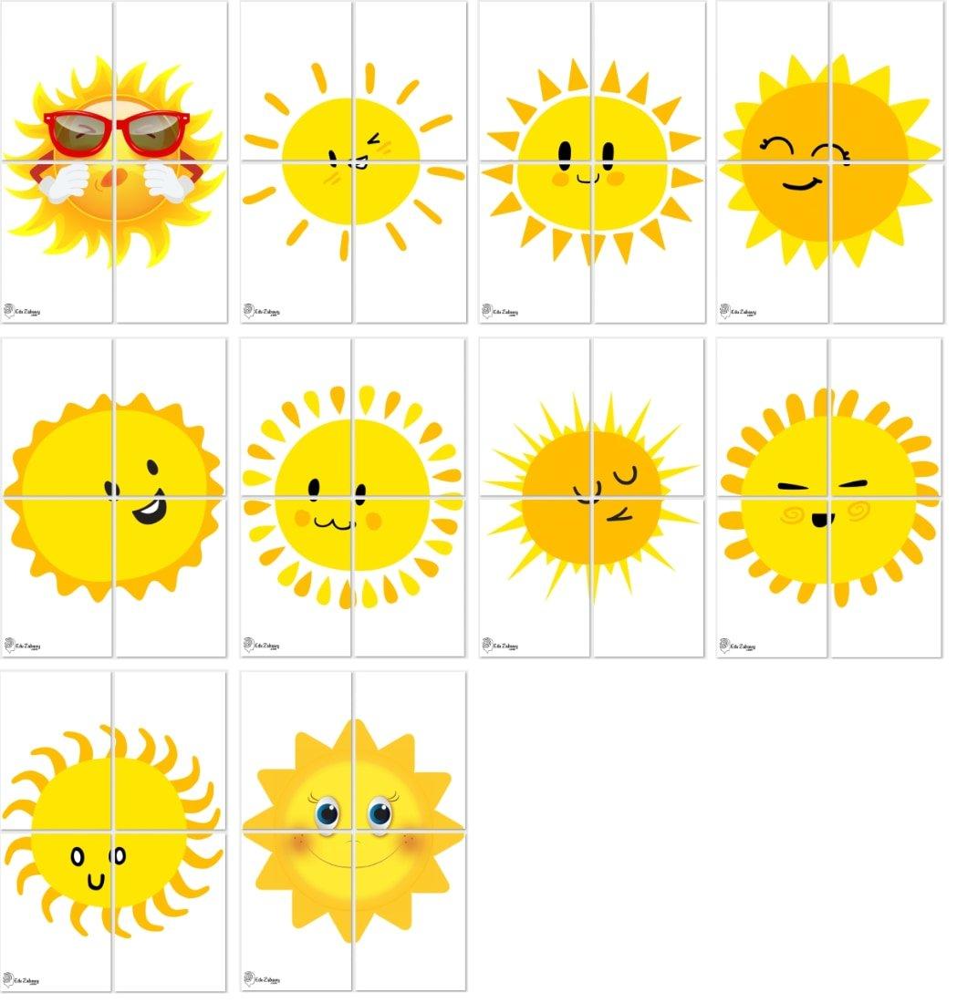 Dekoracje XXL: Słońce (10 szablonów) Dekoracje Dekoracje XXL (Pożegnanie przedszkola) Dekoracje XXL (Zakończenie roku)