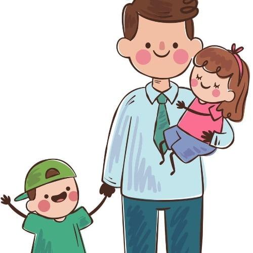 Napis Dzień Taty z Super Tatą Dzień Taty Napisy (Dzień Taty)