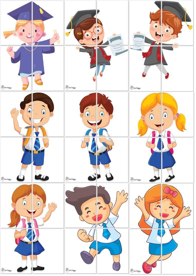 Dekoracje XXL: przedszkolaki / uczniowie (10 szablonów) Dekoracje Dekoracje XXL (Pożegnanie przedszkola) Dekoracje XXL (Zakończenie roku)