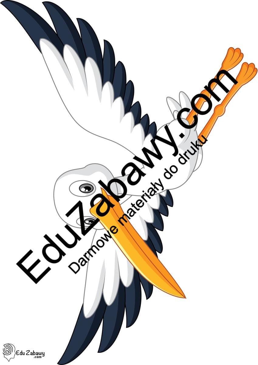 Dekoracje: Bocian (9 szablonów) Dekoracje Dekoracje (Pożegnanie przedszkola) Dekoracje (zakończenie roku)