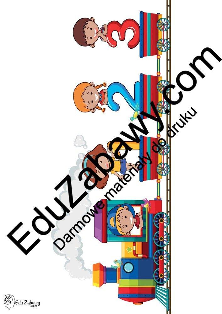 Dekoracje: Pociąg z dziećmi (9 szablonów) Dekoracje Dekoracje (powitanie przedszkola) Dekoracje (Pożegnanie przedszkola) Dekoracje (Zakończenie roku)