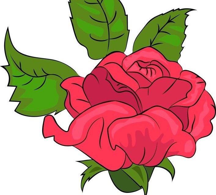 Dekoracje: Róże (10 szablonów)