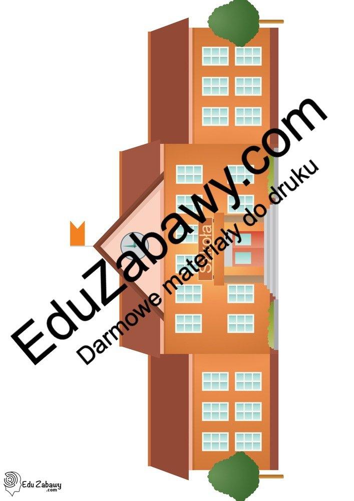 Dekoracje: szkoła / przedszkole (9 szablonów) Dekoracje Dekoracje (Pożegnanie przedszkola) Dekoracje (Zakończenie roku)