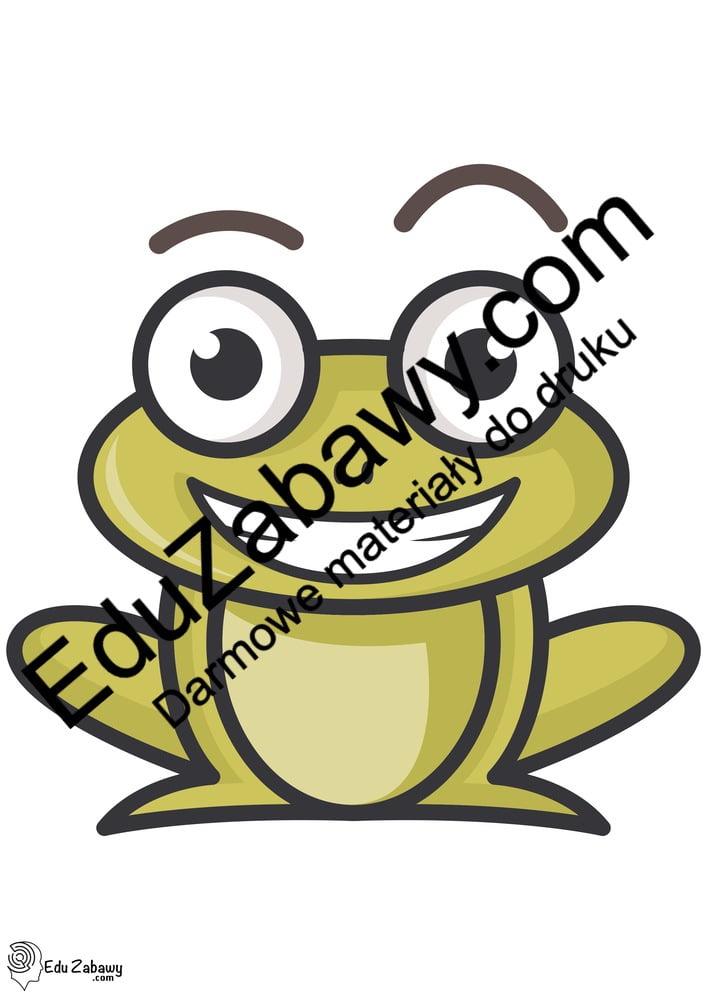 Dekoracje żabki Do Sali Przedszkola Na Okna Do Pobrania I