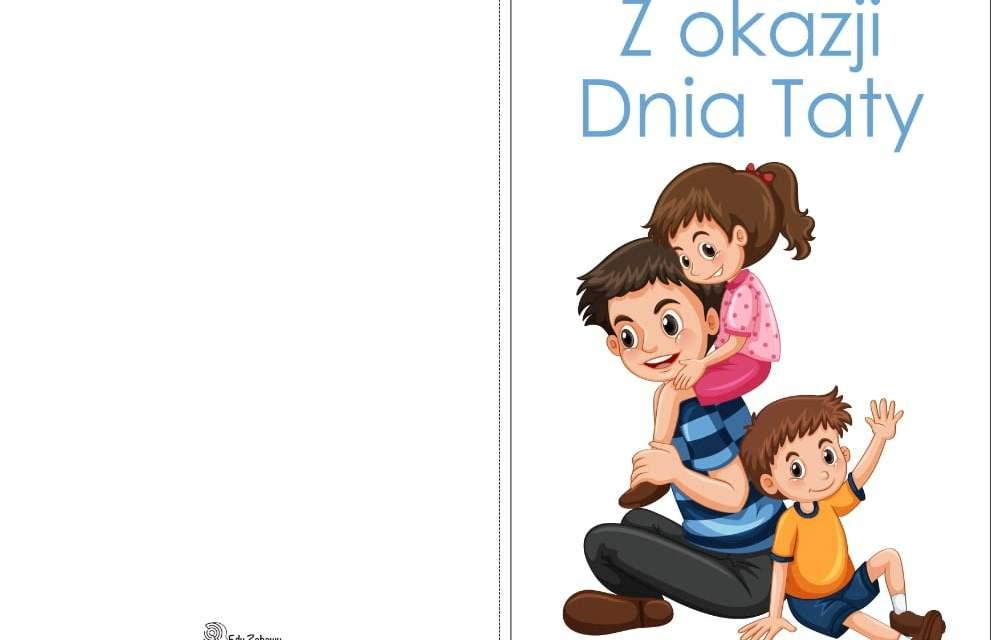 Laurki na Dzień Taty (10 szablonów)