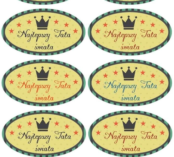 Medal Super Taty (4 szablony)