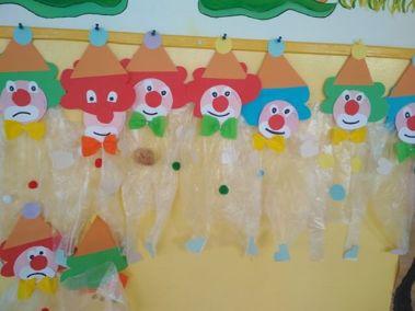 W cyrku - Klown Aneta Grądzka-Rudziak Prace plastyczne