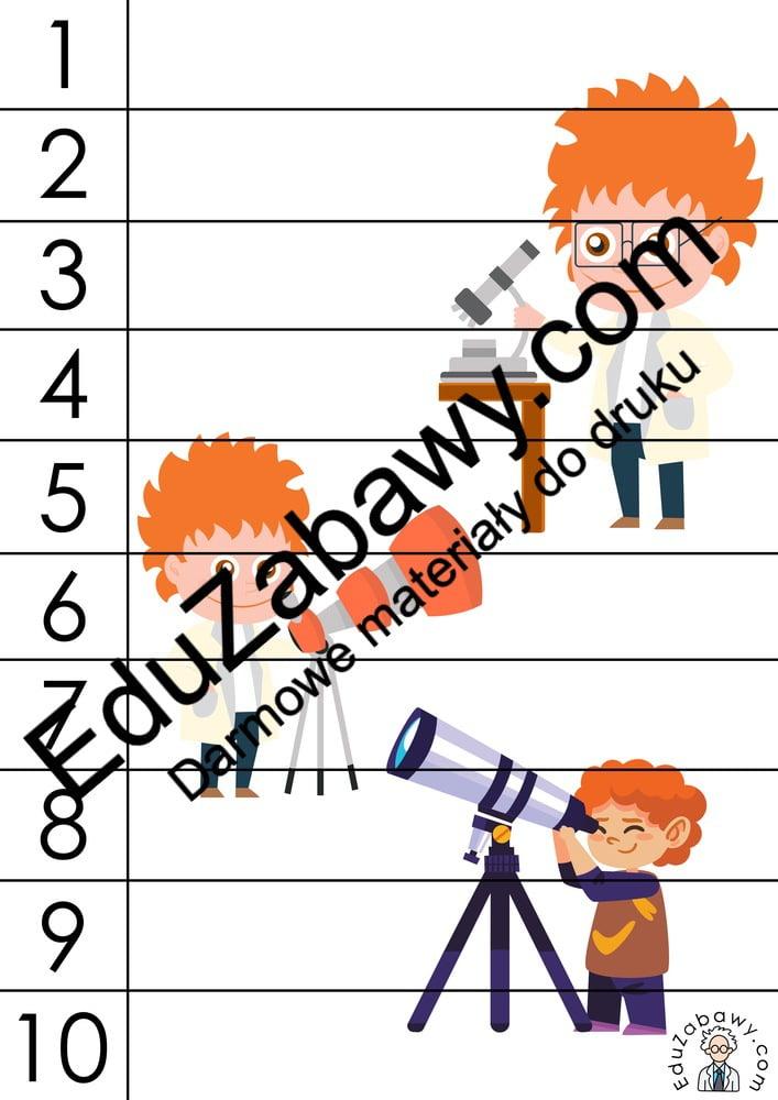 Dzień Chemika: Puzzle: 10 elementów (10 kart pracy) Dzień Chemika Karty pracy Puzzle