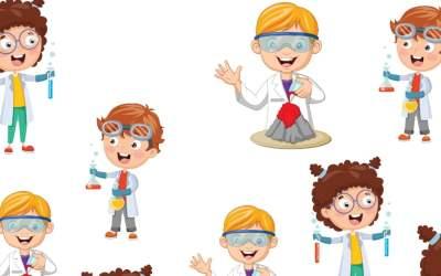 Dzień chemika: Bystre oczko (10 kart pracy)