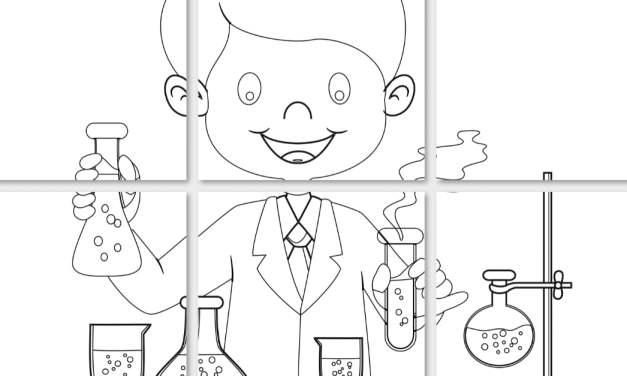 Dzień Chemika: Kolorowanki XXL (10 kart pracy)