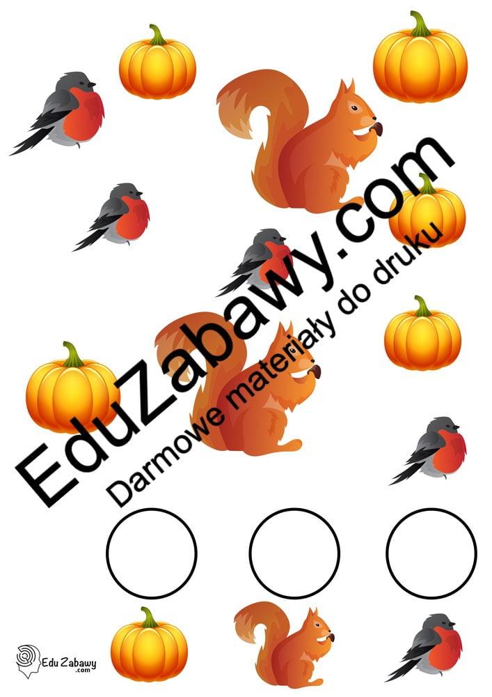 Jesień: Bystre oczko (10 kart pracy) Bystre oczko Karty pracy Karty pracy (Jesień)