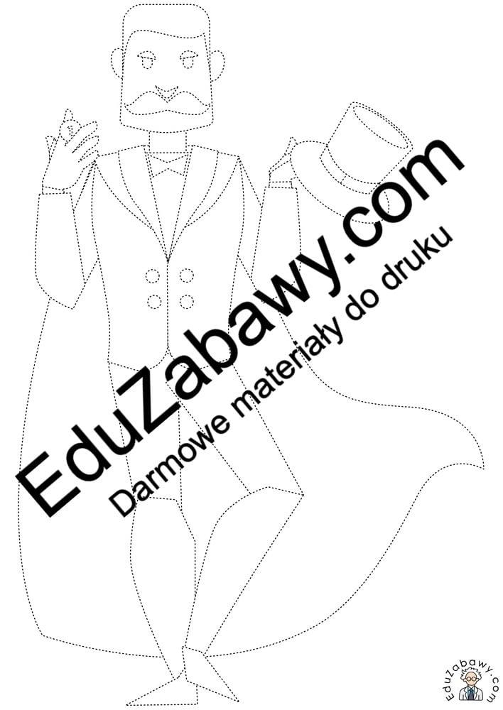 Andrzejki: Grafomotoryka (10 kart pracy) Andrzejki Grafomotoryka Karty pracy Karty pracy (Andrzejki) Kolorowanki (Andrzejki)