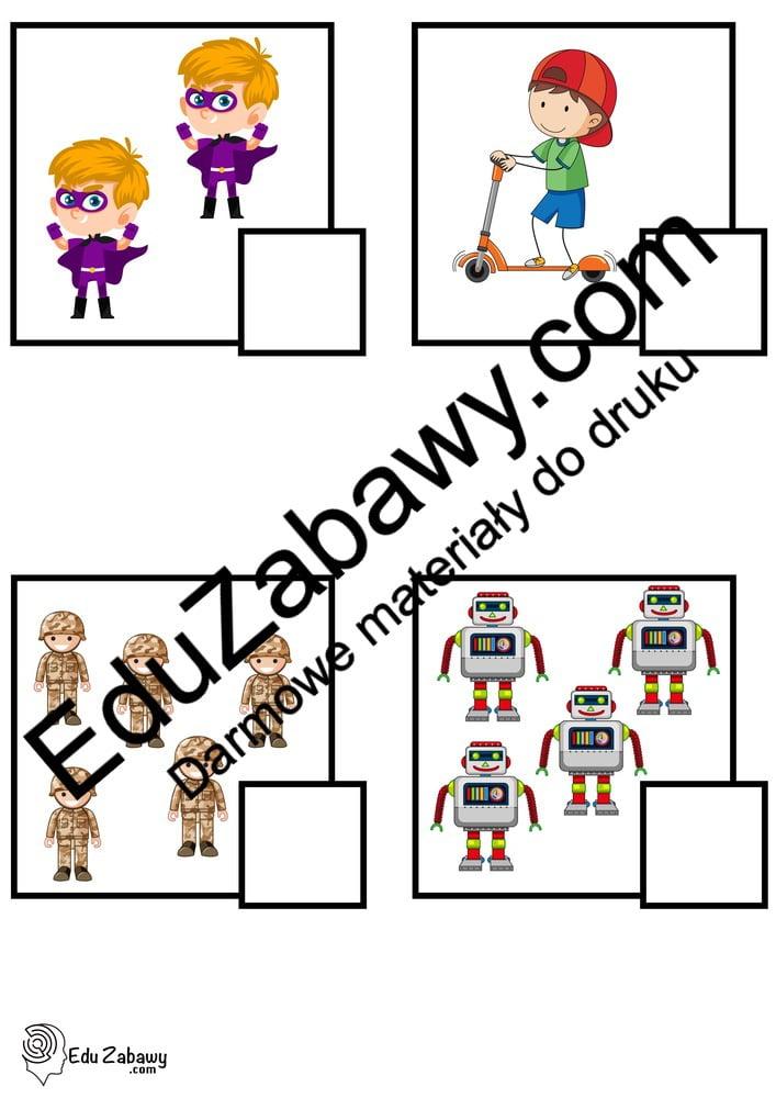 Dzień Chłopaka: Policz obrazki (10 kart pracy) Dzień Chłopaka Karty pracy Karty pracy (Dzień Chłopaka) Policz obrazki
