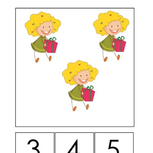 Dzień Dziewczynek: Wypełnij kolorem (10 kart pracy) Dzień Dziewczynek Karty pracy Karty pracy (Dzień Dziewczynek) Wypełnij kolorem