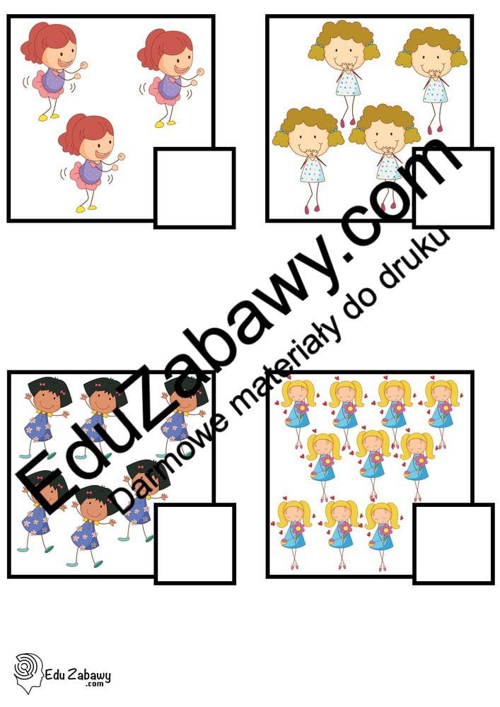 Dzień Dziewczynek: Policz obrazki (10 kart pracy) Dzień Dziewczynek Karty pracy Karty pracy (Dzień Dziewczynek) Policz obrazki