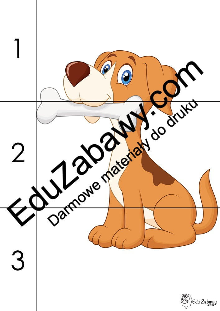 Dzień Kundelka: Puzzle 3 elementy (10 kart pracy) Dzień Kundelka Karty pracy Karty pracy (Dzień Kundelka) Puzzle