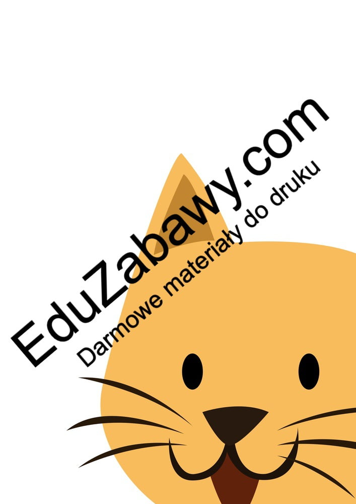 Dzień Zwierząt: Dekoracje XXL (10 szablonów) Dekoracje Dekoracje (Dzień Zwierząt) Światowy Dzień Zwierząt