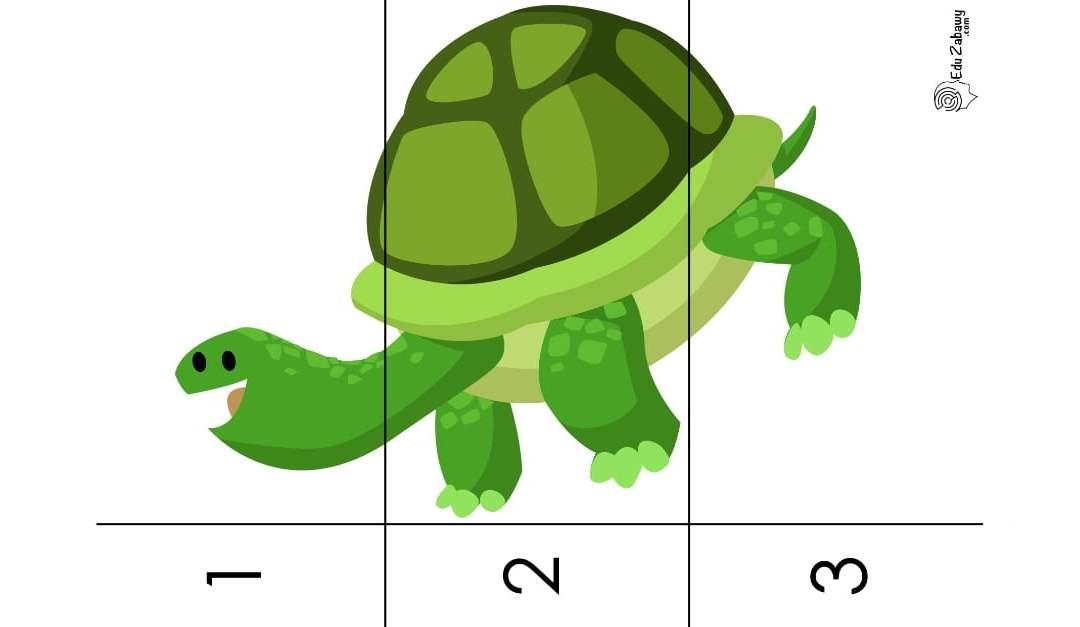 Dzień Zwierząt: Puzzle 3 elementy (10 kart pracy)